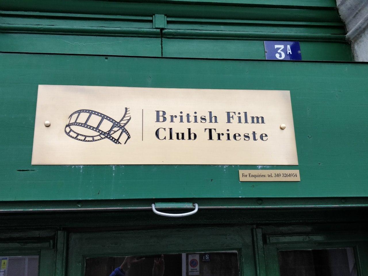 british film club trieste targa